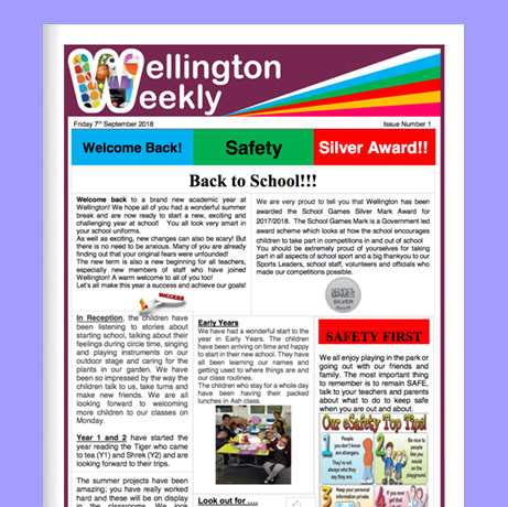 Wellington Weekly newsletter